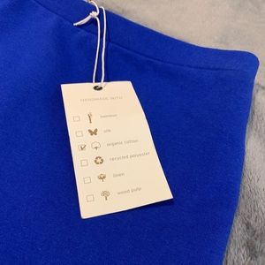 Amour Vert Skirts - NWT, Amour Vert Blue Mini Skirt, Size S